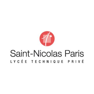 Logo Lycée Saint Nicolas de Paris