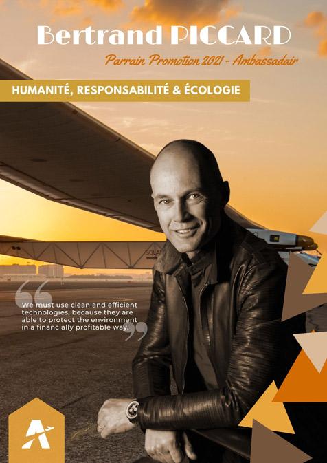 Personnalités aéronautiques - Bertrand PICCARD - Parrain 2021