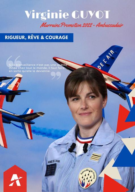 Personnalités aéronautiques - Virginie GUYOT - Marraine 2022