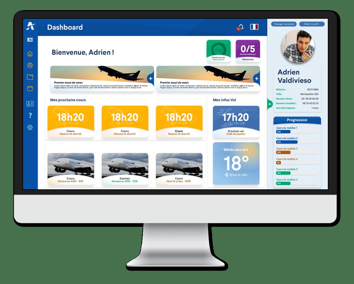 Visuel espace membre Ambassadair - Calendrier Replay Cours Aéronautique en ligne