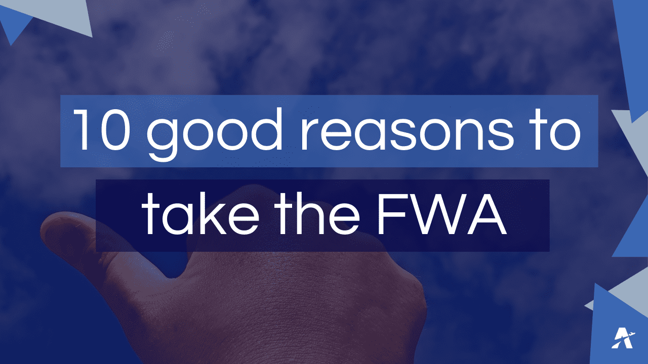 Visual 10 good reasons to take the FWA Training