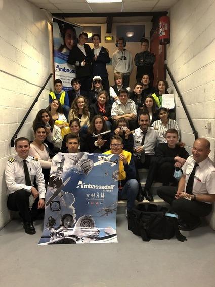 Eleve participants au Stage aviation en anglais - ELAS - Ambassadair